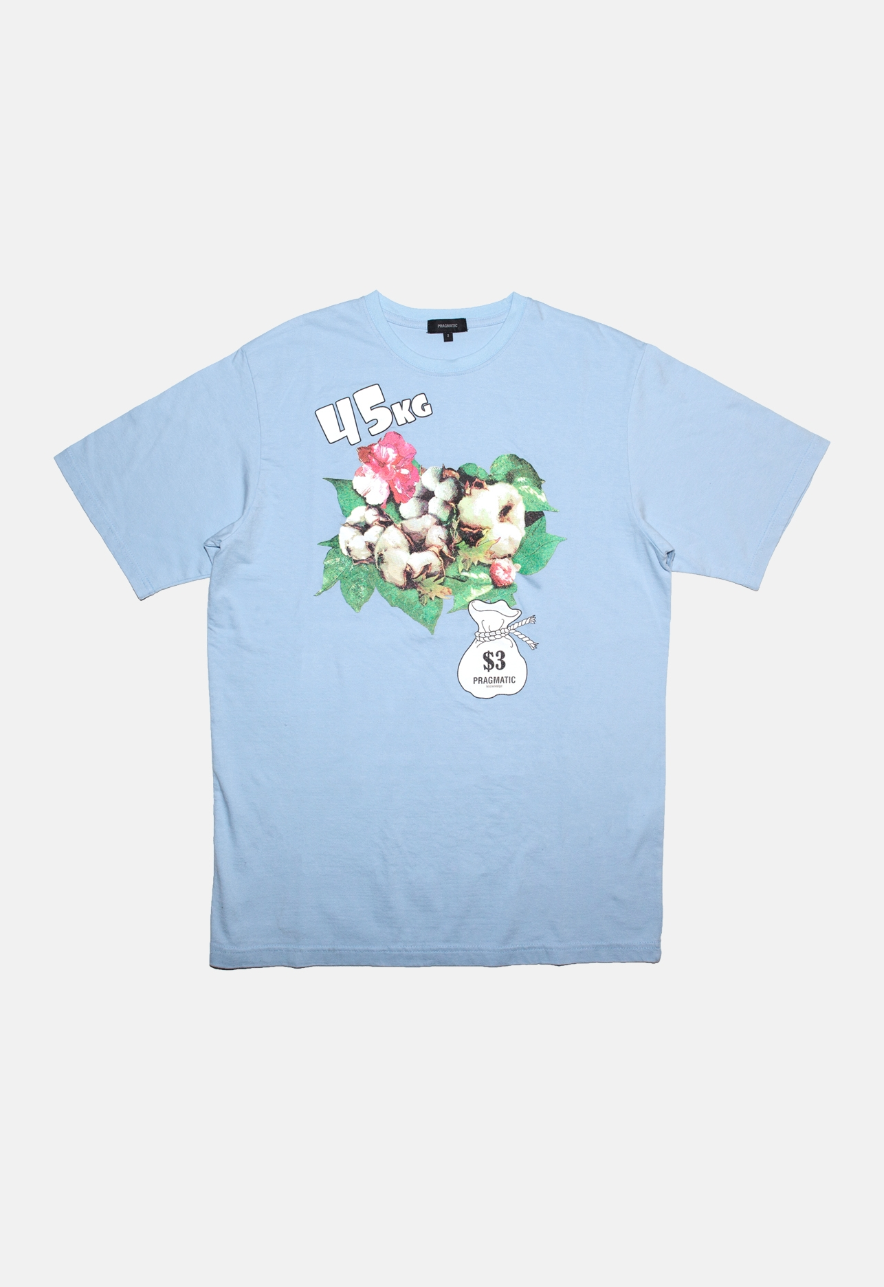 COTTON PLANT T BLUE