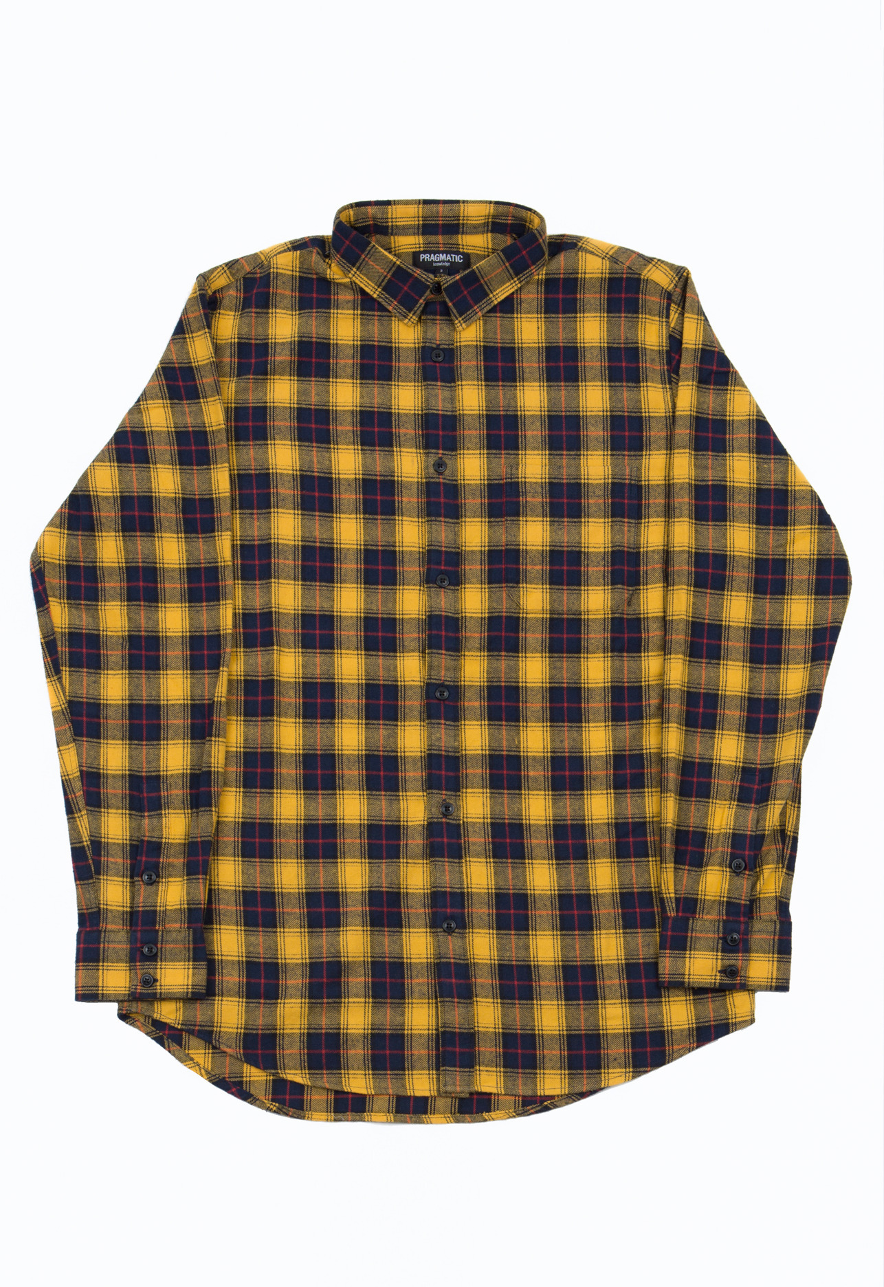 FLANNEL SHIRTS YELLOW