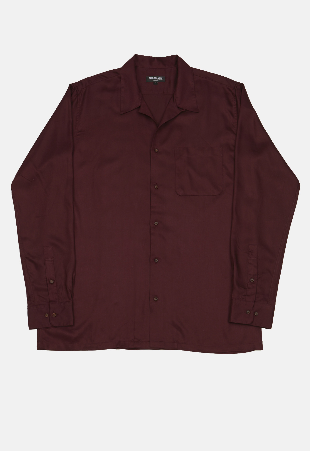 OPEN SHIRTS BURGUNDY