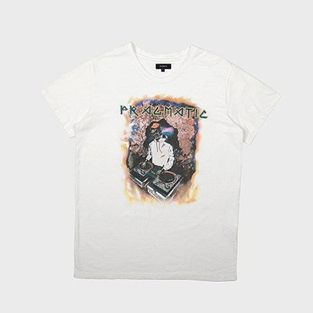 DJ T-SHIRTS WHITE