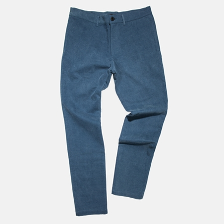 COTTON PANTS BLUE