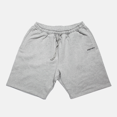 SWEAT HALF PANTS GREY