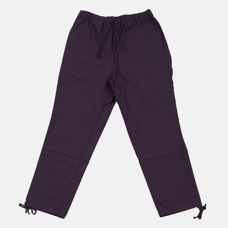 COTTON PANTS PURPLE
