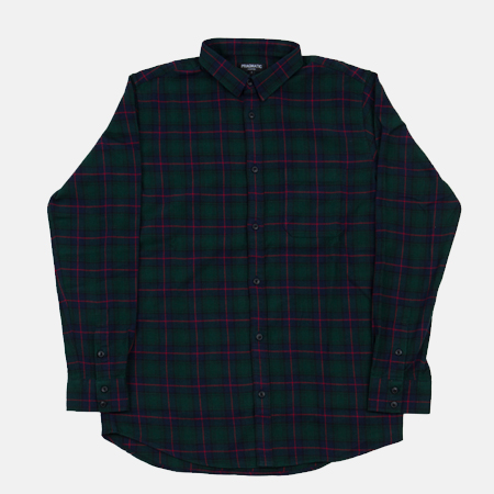 FLANNEL SHIRTS GREEN
