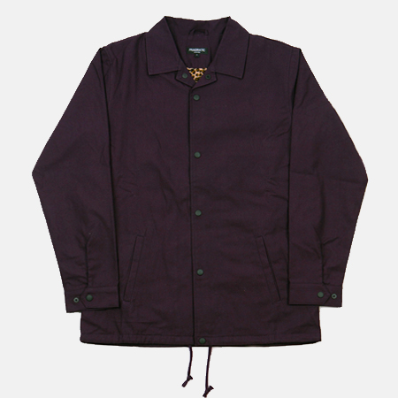 COACH JACKET PURPLE
