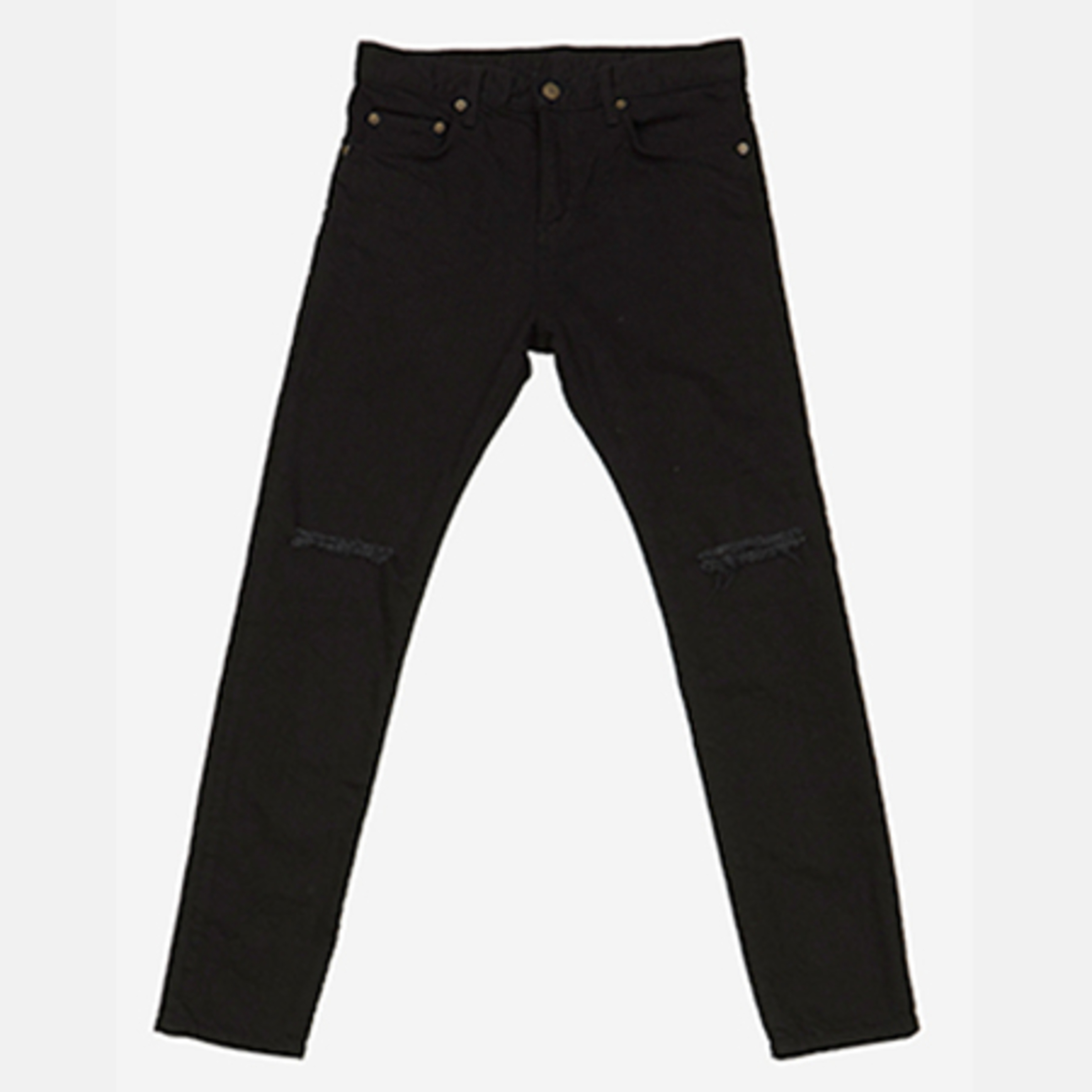 DENIM PANTS BLACK