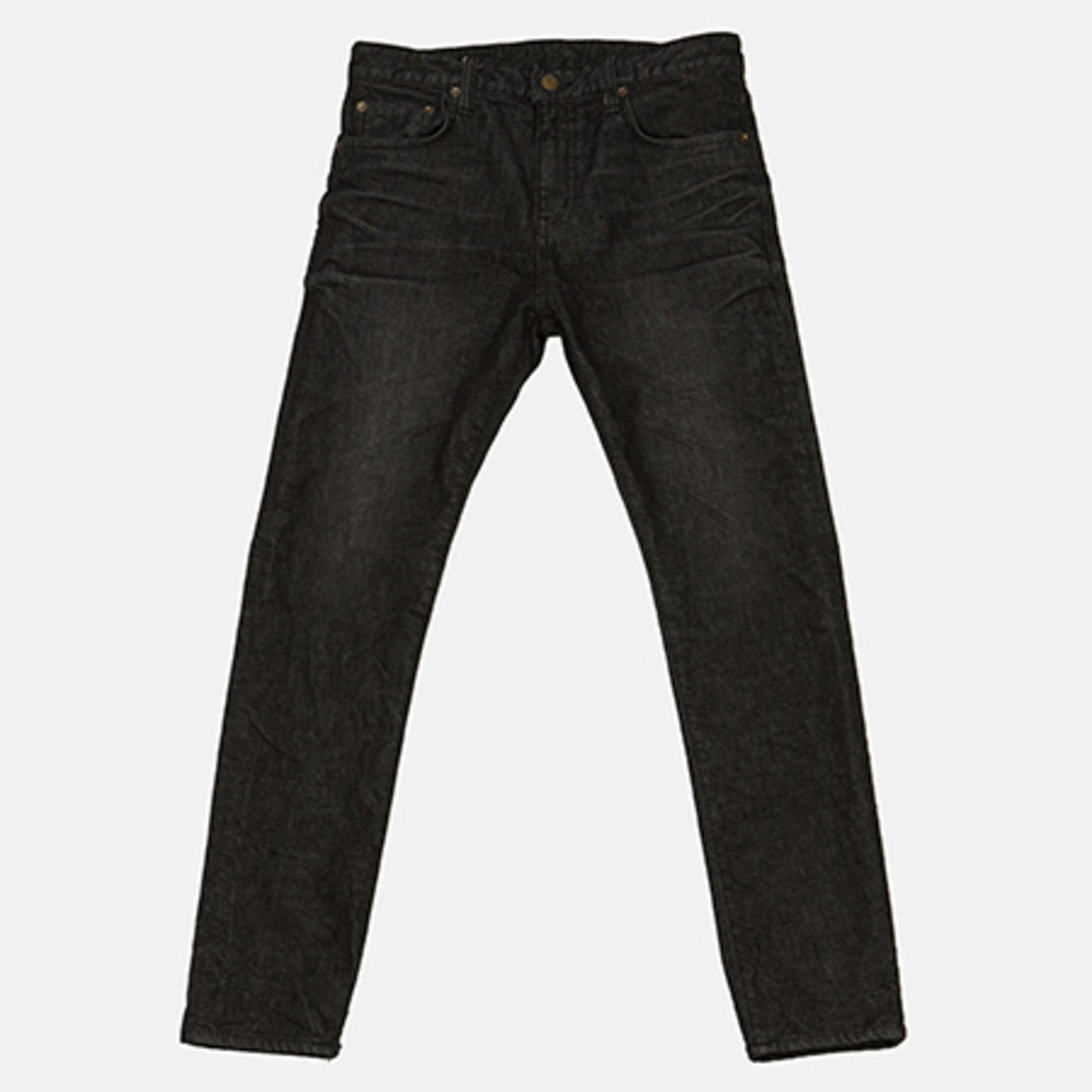 DENIM PANTS BLACK INDIGO
