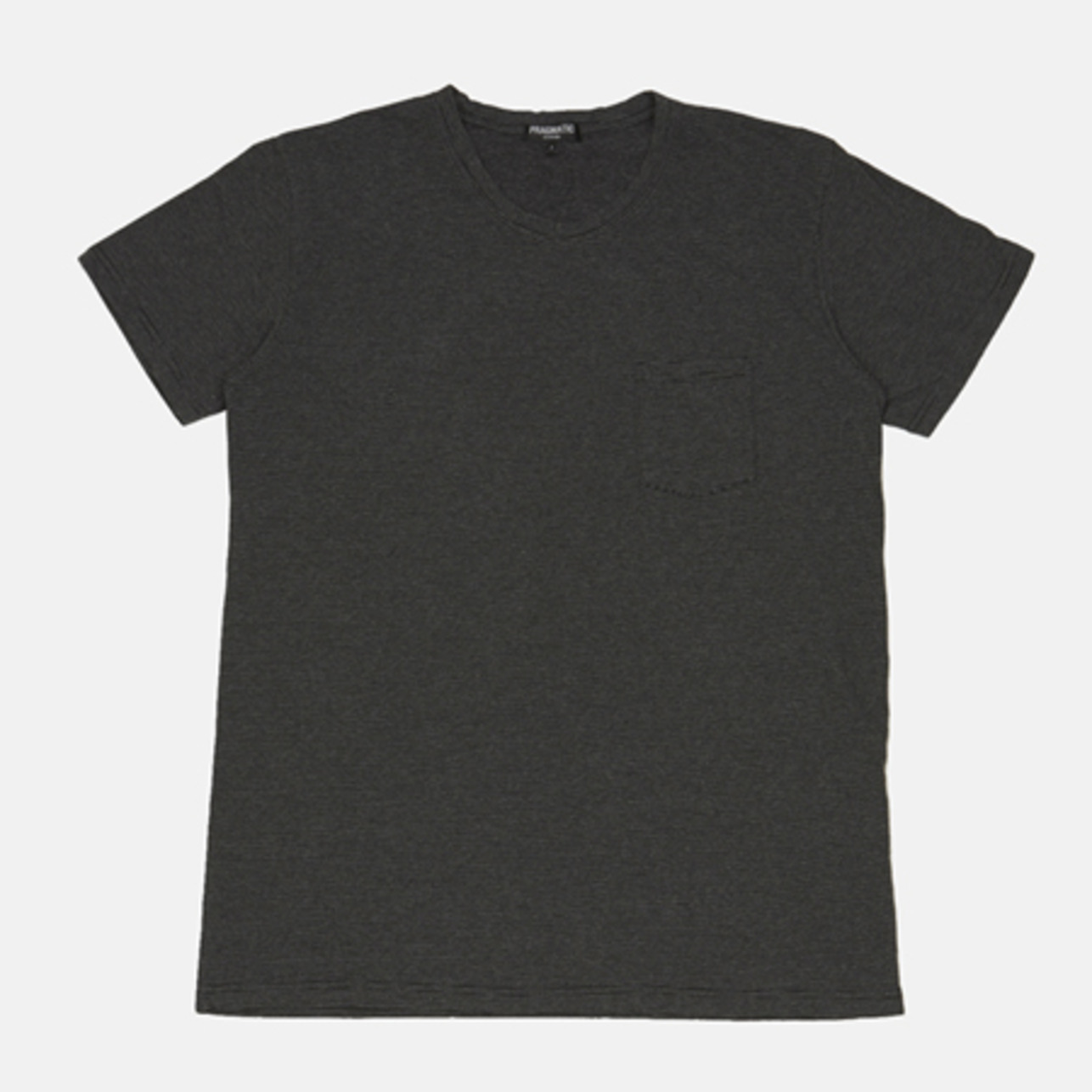POCKET T-SHRITS GRAY