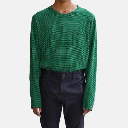 BORDER POCKET T GREEN