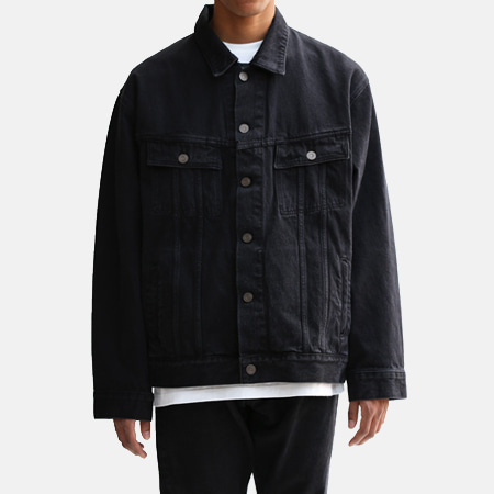 BIG DENIM JKT BLACK