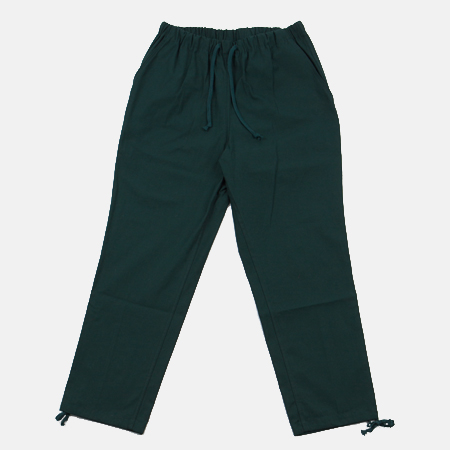 COTTON PANTS GREEN