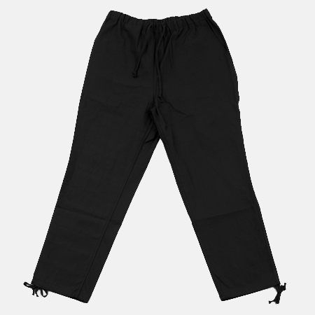 COTTON PANTS BLACK