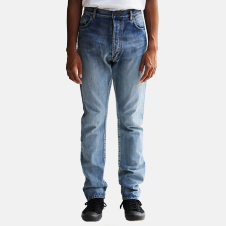 DENIM PANTS BLUE