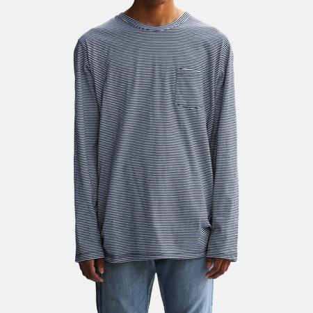 BORDER POCKET T NAVY